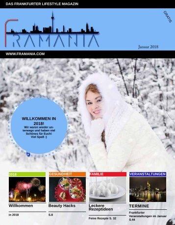 Framania Magazin Januar 2018