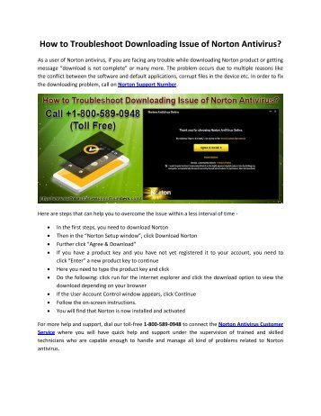 How to Troubleshoot Downloading Issue of Norton Antivirus?