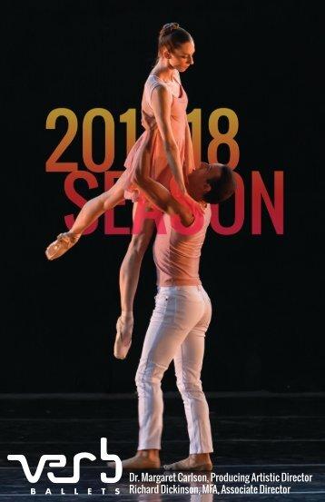 Verb Ballets 2017-18 Season Brochure
