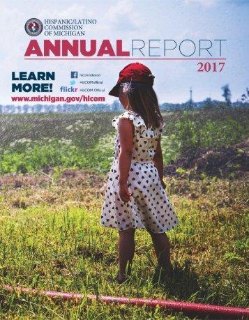 Hispanic/Latino Commission of Michigan 2017 Annual Report