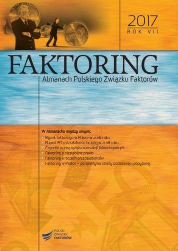 Almanach PZF r. VII_Faktoring 2017