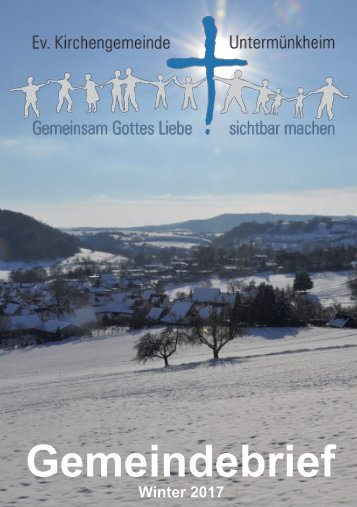 Gemeindebrief Dezember 2017