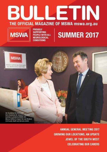 MSWA Bulletin Magazine Summer 17