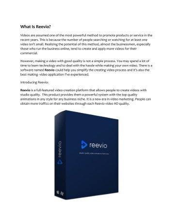 Reevio review - Reevio (MEGA) $23,800 bonuses