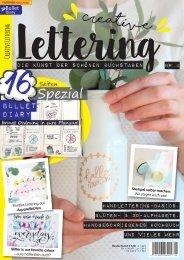 Creative Lettering - Die Kunst der schönen Buchstaben 04/2018