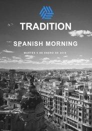 Spanish Morning 9 enero 2018