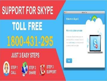 Skype Helpline Number Australia 1800-431-295