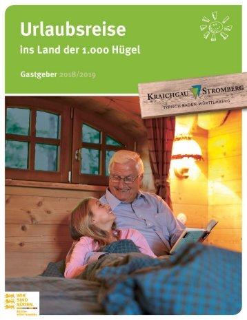 Gastgeberverzeichnis 2018/19 Kraichgau-Stromberg Tourismus