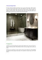 Five Best Ideas To Make Your Bathroom Look Like A Luxury Spa - Page 5