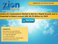 Global Air Compressors Market, 2016 – 2022