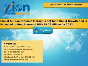 Global Air Compressors Market, 2016 – 2022