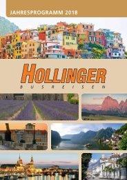 Hollinger Jahresprogramm 2018