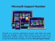 Microsoft Support Number 1-888-909-0535 for Help