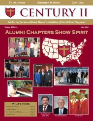 Century II Magazine - Brother Martin High School