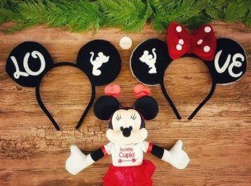 Kit  Tiaras Mickey Minnie Namorados (Love) ❤