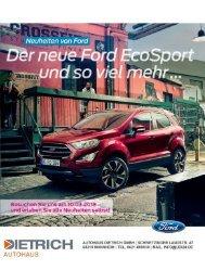 Autohaus Dietrich GmbH   Neuwagen News 01-2018