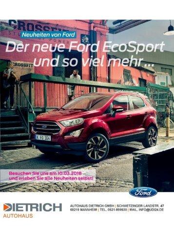 Autohaus Dietrich GmbH | Neuwagen News 01-2018