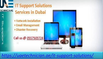 Need to help for IT Support Solutions Services in Dubai Call @ 0557503724