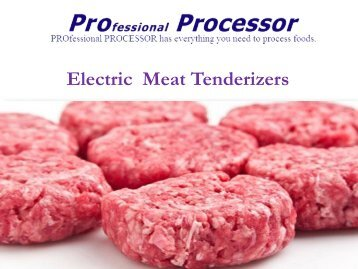 Top Collection Of  Electric Meat Tenderizer In USA