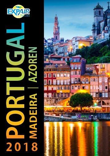 Brochure Portugal - Madeira - Azoren 2018