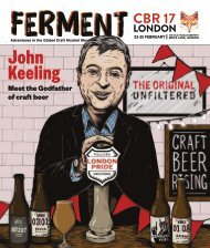 Ferment CBR 1  // The Craft Beer Rising Edition