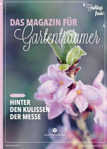 Das Magazin für Gartenträumer | 01/2018 | Rheda-Wiedenbrück