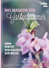 Das Magazin für Gartenträumer | 01/2018 | Freiburg