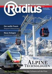 Radius Alpine Technologien 2014