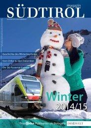 Südtirol Magazin Winter 2014/15 - Die Welt