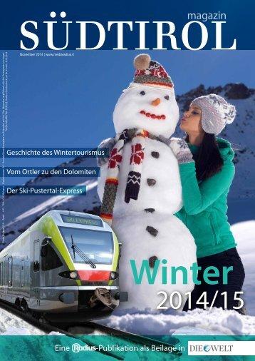 Radius Magazin Winter 14_15