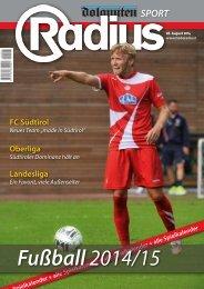 Fußball 2014/15