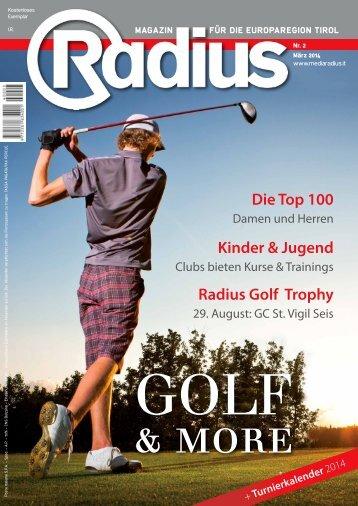 Radius Golf 2014