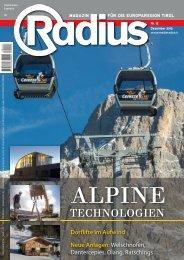 Radius Alpine Technologien 2013