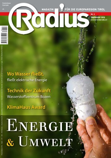 Radius Energie und Umwelt 2013