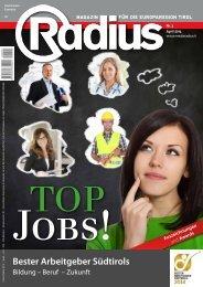 Radius Top Jobs 2014
