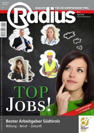 Radius Top Jobs 2014