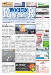 Wochen-Kurier 02/2018 - Lokalzeitung für Weiterstadt und Büttelborn