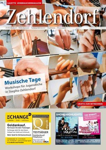 Gazette Zehlendorf Nr. 1/2018