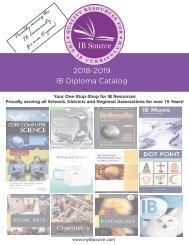 2018 IB Diploma Catalog