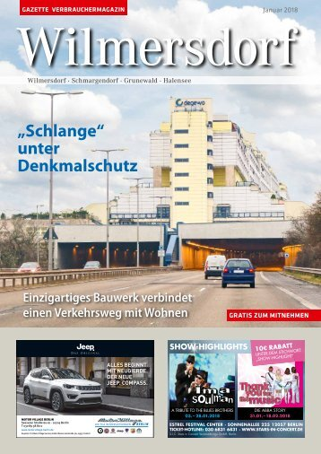 Gazette Wilmersdorf Nr. 1/2018