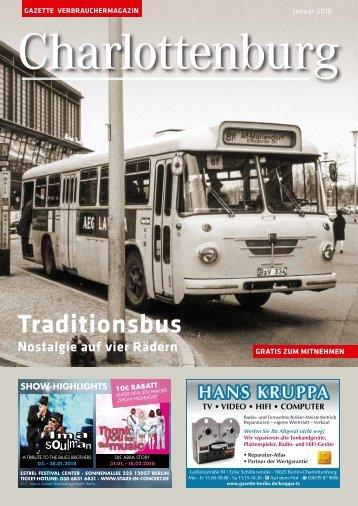 Gazette Charlottenburg Nr. 1/2018
