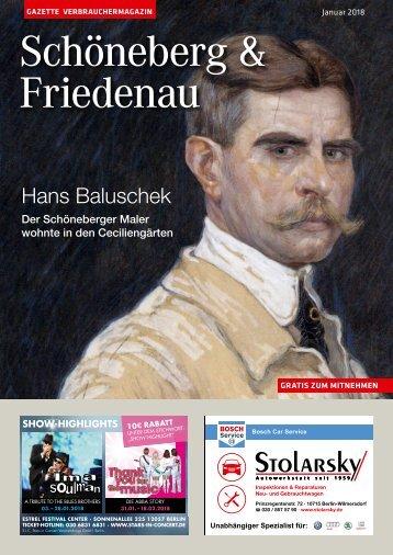 Gazette Schöneberg & Friedenau Nr. 1/2018