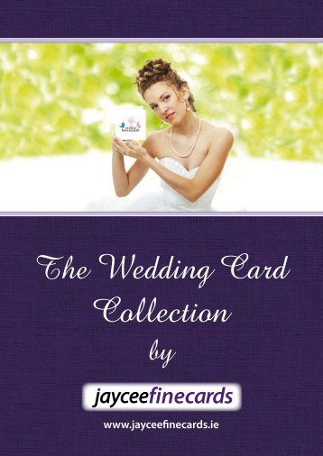 Jayceefine Wedding Stationery Catalogue 2018