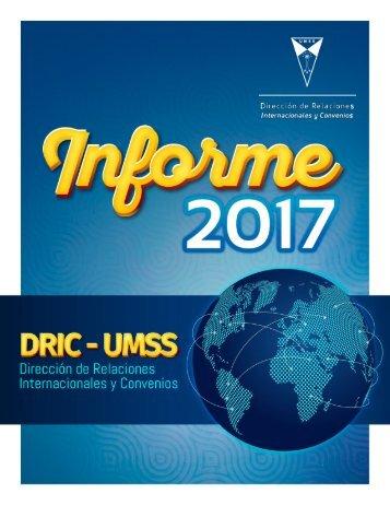 Informe de Gestión 2017 - DRIC