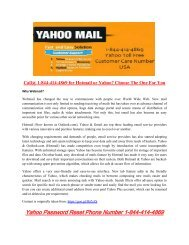 Call on 1877-503-0107  Yahoo Customer Support Number if Need any Help