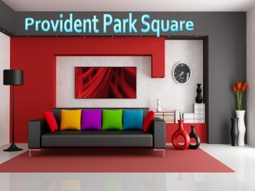 Provident Park Square Prelaunch Apartments