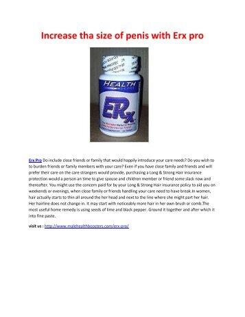 Erx Pro - Increase your Stamina Level