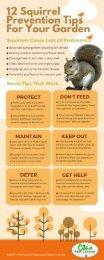 Catch-it Squirrel Pest Control Infographic