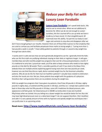 Luxury Lean Forskolin