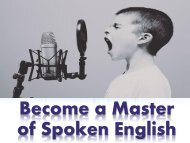 Become a Master of Spoken English